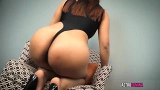 Cum For My Asian Ass close up ass worship femdom big booty joi pov big butt brunette asian kink big ass butt