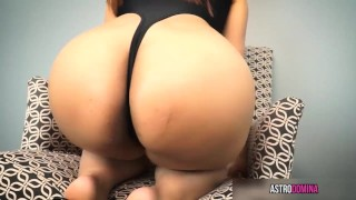 Cum For My Asian Ass close up ass worship femdom big booty joi pov big butt brunette asian kink big ass butt