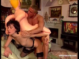 Elizabeth Goes ATM and Rides a Hard Cock