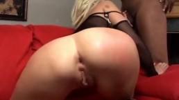 two black cocks for slut blond