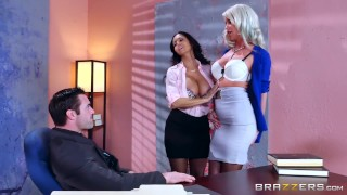 Described Video – Sexy Threesome in the Office
