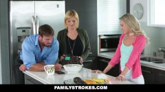 FamilyStrokes - Dont Tell Mom I fucked My Step-Dad