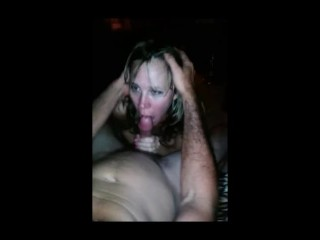 Sucking My Friends Big Cock While My Husband Films The Action