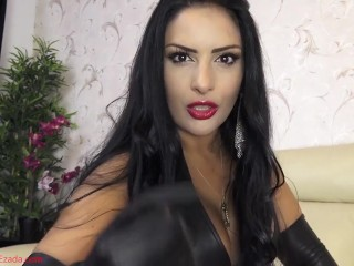 The soft touch of My leather gloves