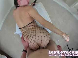 Lelu Love-Social Media POV Fucking In Fishnet Bodystocking