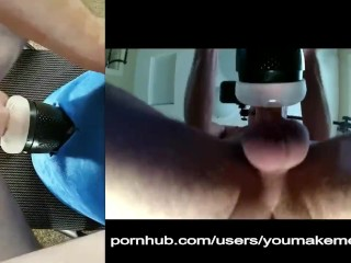 Husband fucking fleshlight dual view