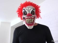 FirstBGG.com – Luna Corazon and Daisy- Evil clown attacks two girlfriends