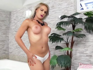Sexy shemale anal vegatable insert