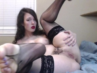 ripping my runny stockings