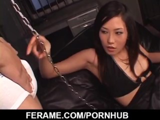 Mind blowing hardcore with dominant Yui Komine