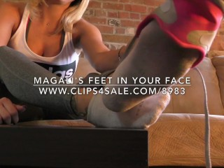 Magali's Feet in Your Face - www.c4s.com/8983/16630020
