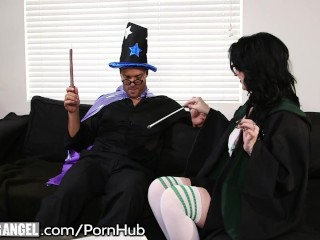 Burningangel goth babes horny potter cosplay - 2 part 7