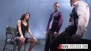 Digital Playground- Sexy Suspect Sucks Two Detective Dicks