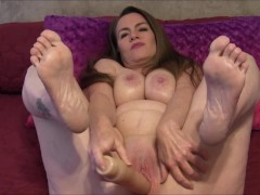 Cum On The Soles Of My Feet (Solo Masturbation)