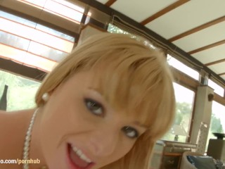 All Internal with Charlyse Bella creampie scene