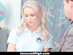 InnocentHigh – Pissed Off Teens Fucked By Teacher