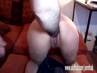 Brutally fisting his GFs greedy loose pussy