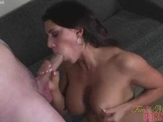 Leena Loves Sucking Big Cock