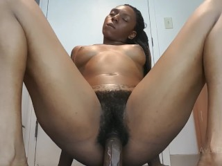 Ayla - Bouncing on my BBC Dildo