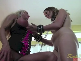 Ashlee Chambers and Her Young Female Slave