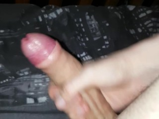 Teasing my cock for you all
