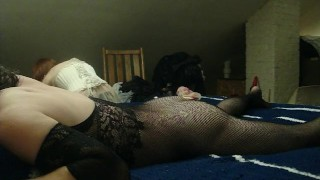 My Sexy Wife Pegs Me with Double Ended Dildo in Chastity  amateur anal femdom strapon double ended dildo amateur wife strapon orgasm chastity dildo femdom kink corset amateur milf chastity femdom femdom pegging adult toys chastity cage