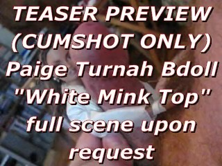 BBB preview: Paige Turnah in White Mink