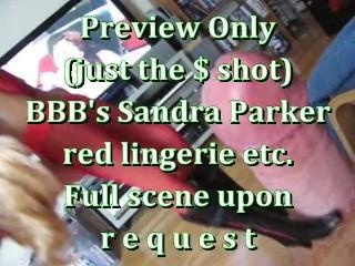 BBB Preview: Sandra Parker Red Lingerie etc