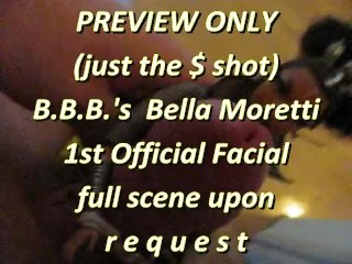 BBB preview: Bella Moretti 1st official facial