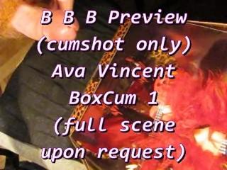 BBB preview: Ava Vincent's 1st BoxCum