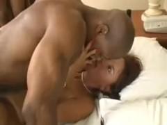 Janet Mason tastes some black meat