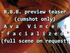 "BBB preview: Ava Vincent ""Facialized"""