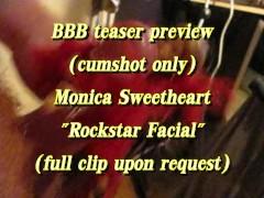 "BBB preview: Monica Sweetheart ""Rockstar Facial"""