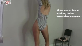 Mona Saves an Angel THE SEQUEL TO THE BIBLE fishets mona wales lance hart dancing bible pegging pantyhose female friendly kink cum on pantyhose angel guy liner strapon sweet femdom leotard sweetfemdom