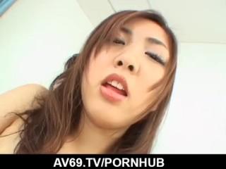 Top POV porn scenes along alluring Sayaka Fukuhara