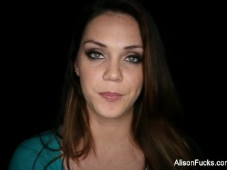 Behind the scenes fun with busty Alison Tyler
