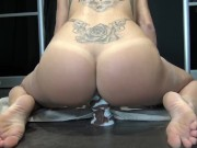 Tiny Teen Squirt, Creampie and Fuck Horse Cock by Vic Alouqua