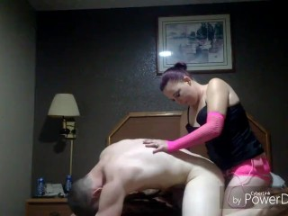 My hot wife pegs me for the first time