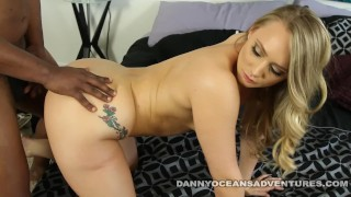 DOCEAN Phat Ass AJ Applegate shakes it for Black Cock
