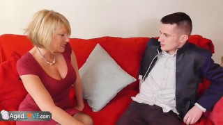 Preview 3 of AgedLove Sam Bourne and mature Amy hardcore