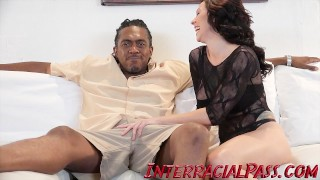 4K Beautiful Harlow Takes on A Monster Black Cock!  bbc interracialpass riding big-cock big-ass huge-cock tattoo big-boobs casting massive-cock blackzilla interracial cowgirl dredd