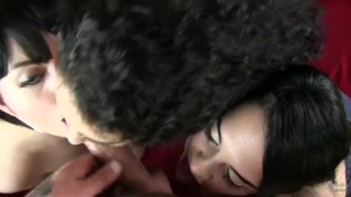 Arabelle Two Friends And One Luck Guy  big-cock huge-tits big-tits cock-sucking bbw point-of-view vixen home-made blowjob amateur cumshot pov gangbang natural-tits tattoos