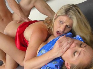 Avalon Heart Shares Her BF Big Cock With Step Mother Cory Chase