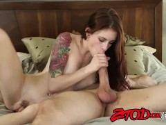 Smoking hot Anna DeVille fucked in the ass