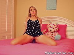 Busty Teen Kimber Lee ... video