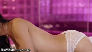 TransSensual Venus Lux Gives it To MILF