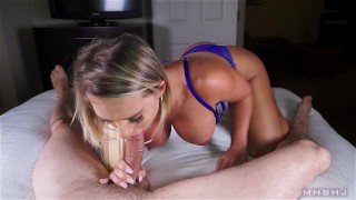 MHBHJ - Cali  cock-sucking huge-dick big-tits point-of-view booty marks-head-bobbers mhb blonde mark-rockwell deepthroat-cock deepthroat mhbhj cum-in-mouth ocp oral-creampie