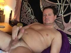 Selfie Stick Dildo in Ass Orgasm
