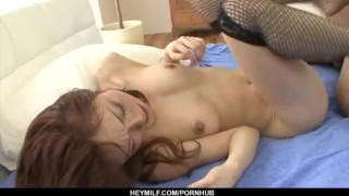 Great hardcore sex with amazing Sara Seori  pussy hot-milf hairy-pussy uniform nice-ass heymilf doggy style hardcore action black stockings cock-sucking sexy stockings