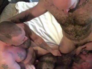 Bonding & Breeding pt2 (Liam's First Double Penetration)